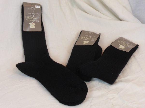 Lots de chaussettes mohair noires