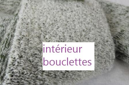 Intérieur bouclettes
